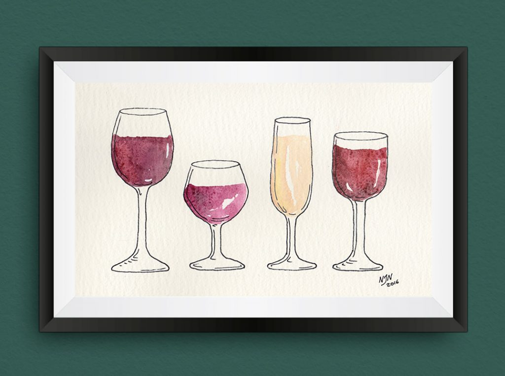 4 colors of wine – Inspiration