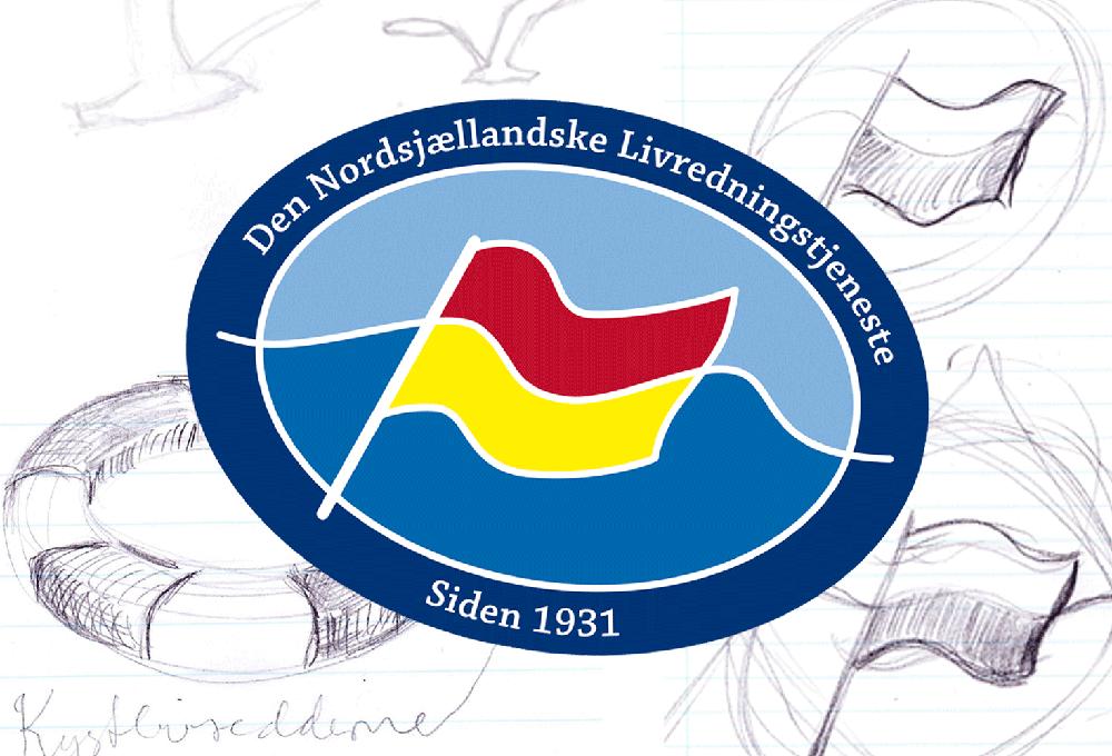Den nordsjællandske kystlivredningstjeneste logo