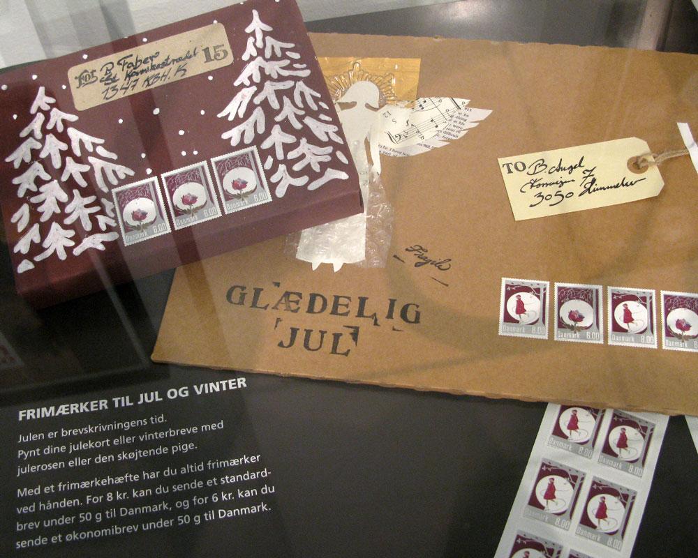 Pakker – Julepostudstilling Post Danmark